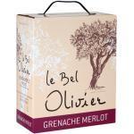 Le Bel Olivier Grenache & Merlot Bag-in-Box - 3,0 L - 2020 - Grands Vins du Saint Chinian - Französischer Rotwein
