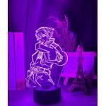 Violette League of Legends Nachttischlampen & Nachttischleuchten