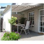 Leco premium terrassenüberdachung alu markise sonnenschutz, farbe: 0681/6547, modell: vlexy rollo