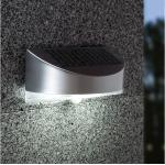LED Solar Außenleuchte Wandleuchte mit Bewegungsmelder IP44 Garten Wegeleuchten