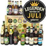 Legenden Juli/Bier aus der Welt und DE/Geschenkbox Herren/Bier Adventskalender Männer