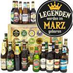 Legenden März/Bier Paket Welt und DE/Geschenkset März/Adventskalender Bier 2019