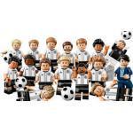 LEGO 71014 DFB Fußball Die Mannschaft (von 2016) - komplette Serie 16 Minifiguren +EXTRA