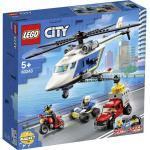 LEGO City 60243 Polizei Verfolgungsjagd m.d.Hubschrauber