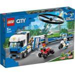 LEGO® City 60244 Polizeihubschrauber-Transport, bunt