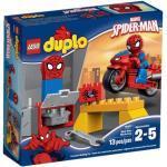 LEGO DUPLO 10607 Spider-Man - Motorrad-Werkstatt