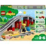 LEGO DUPLO 10872 10872 Eisenbahnbrücke und Schienen