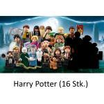 LEGO Harry Potter and Fantastic Beasts Serie 1 Minifiguren 71022 alle 16 Harry Potter Minifiguren