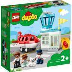 LEGO® Konstruktionsspielsteine »Flugzeug und Flughafen (10961), DUPLO® Town«, (28 St), Made in Europe