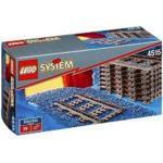 LEGO System 4515 Eisenbahn 8 Gerade Gleisstücke