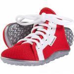 Rote Leguano Kinderlaufschuhe
