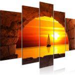 Leinwand Bilder Strand Meer Landschaft Wandbild Xxl Wohnzimmer Kunstdruck 5motiv