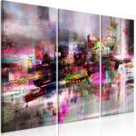 LEINWAND Deko BILD Bunt Abstrakt Modern WAND BILDER XXL Wohnzimmer 3tlg 10 Motiv