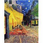 Leinwandbild Café Terrace at Night von Vincent Van Gogh