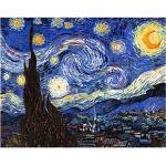 Blaue Van Gogh Leinwandbilder