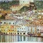 Reduzierte Gustav Klimt Gemälde L 2 cm