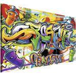 Leinwandbild Graffiti 75x100 cm