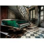 Leinwandbild (Green Piano, B x H: 113 x 85 cm)