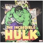 Leinwandbild Marvel, The Incredible Hulk 70x70 cm