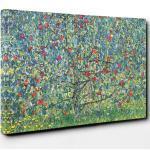 Leinwandbild Obstgarten mit Rosen von Gustav Klimt