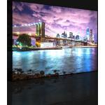 Leinwandbild Silhouette von New York