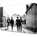 Leinwandbild The Beatles Running