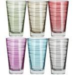 LEONARDO Gläser groß, 6er-Set Vario ¦ mehrfarbig ¦ Glas