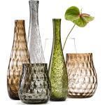 Leonardo Vase Giardino Grau Glas 13x50x13 cm (BxHxT) Modern illuminantsType