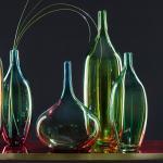 Leonardo Vase Lucente I Blau Glas 22x29x22 cm (BxHxT) illuminantsType