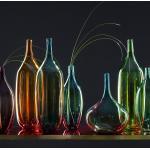 Leonardo Vase Lucente III Grün Glas 15x46x15 cm (BxHxT) illuminantsType