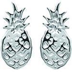 Les Trésors De Lily [N9241] - Silber-ohrringe 'Ananas' silber rhodium.
