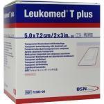 LEUKOMED transp.plus sterile Pflaster 5x7,2 cm 50 St