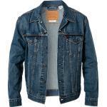 Levi's® Herren Jeans Jacke, Baumwolle, blau