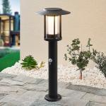 Lindby Volki LED-Solar-Sockelleuchte mit Sensor