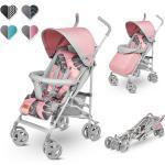 lionelo Kinder-Buggy »ELIA«, Moskitonetz, Beinwärmer und Regenschutz, ab 0 bis 32 Monate, rosa, Rosa
