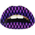 Lippen Tattoo Aufkleber Sticker dermatologisch getestet Netz