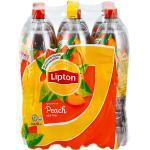 Lipton Eistee Pfirsich 1,5 Liter, 6er Pack