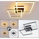 Lithgow Deckenleuchte LED Schwarz, 1-flammig - Modern - Innenbereich - versandfertig innerhalb von 2-4 Werktagen