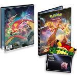 Lively Moments Pokemon Ultra-Pro-Album A5 Flammende Finsternis mit Gigadynamax-Glurak und Gigadynamax-Infernopod / Sammelalbum mit 40 Fächer + Exklusive GRATIS Grußkarte