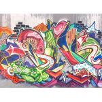 living walls Fototapete »Designwalls Graffiti«, glatt, (5 St)