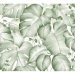 living walls Vinyltapete Pop Up Panel 3D, floral, Dschungel, Palmen grün Vinyltapeten Tapeten Bauen Renovieren