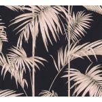 living walls Vliestapete »Metropolitan Stories Lola Paris«, botanisch, tropisch, Palmen-Print, braun, dunkelbraun-rose