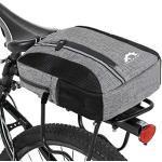Lixada Fahrradtaschen Fahrradisolierte Kühltasche, 2-in-1 Multifunktions wasserdichte Chest Sling Pack Bag Fahrradträger Gepäckträger Tragetasche, 31 19 7 cm