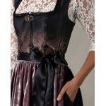 Schwarze Lola Paltinger Bestickte Kleider mit Reißverschluss für Damen