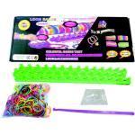 Loom Bänder Starter-Set / 600 Gummibänder, Webrahmen, Clips
