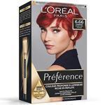 L'OREAL - Coloration - Préférence Infinia Colour Extender - 6,66 pure scarlet - rouge très intense