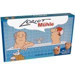 """Loriot Mühle """"Herren im Bad"""" 31,5 x 18,5 x 5 cm • 40080 ''Das Loriot-Mühlespiel'' •Games •Spiele"""