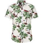Kurzärmelige Hawaiihemden für Herren für den Sommer