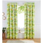 Lüttenhütt Gardine Dschungel, Nachhaltige Kindergardine grün Wohnzimmergardinen Gardinen nach Räumen Vorhänge