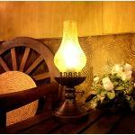 Luodan Kai Continental retro Jahrgang Petroleumlampe Schlafzimmer Nachttischlampe kreative Lampe antike Lampe Republik